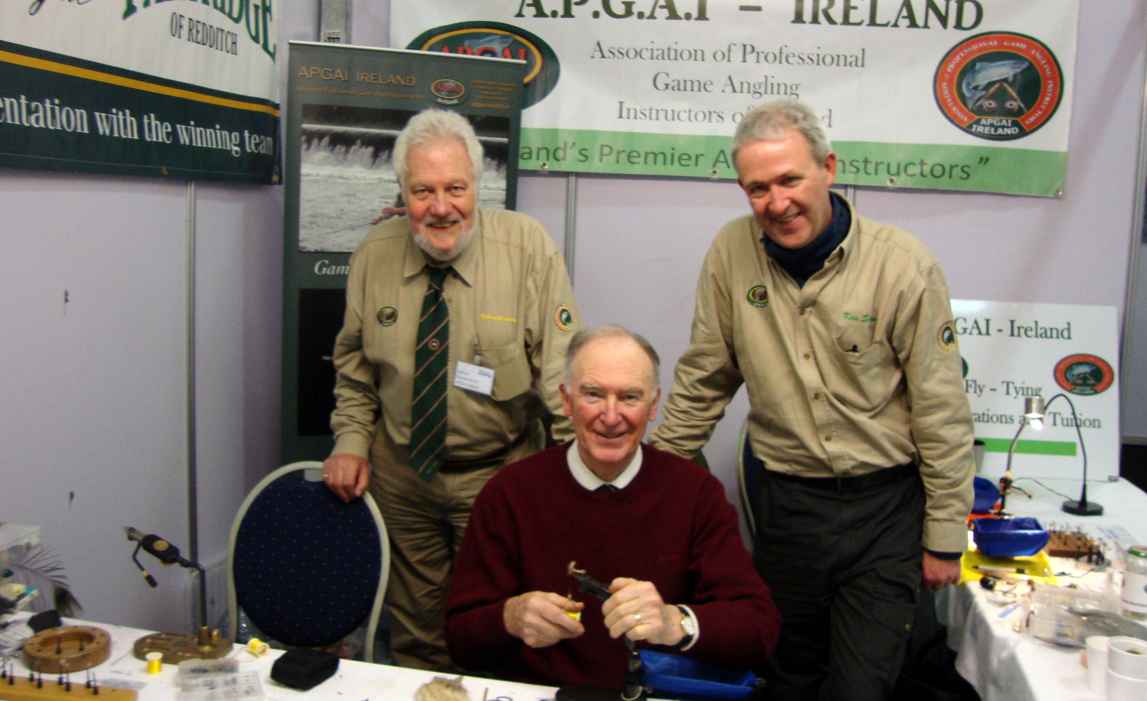 Peter, Arthur and Ken at Swords